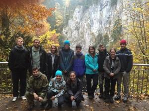 Roverský kmen 2015 - Z výpravy do Moravského krasu