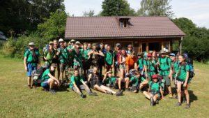 13. oddíl - tábor 2016, Popovice u Benešova