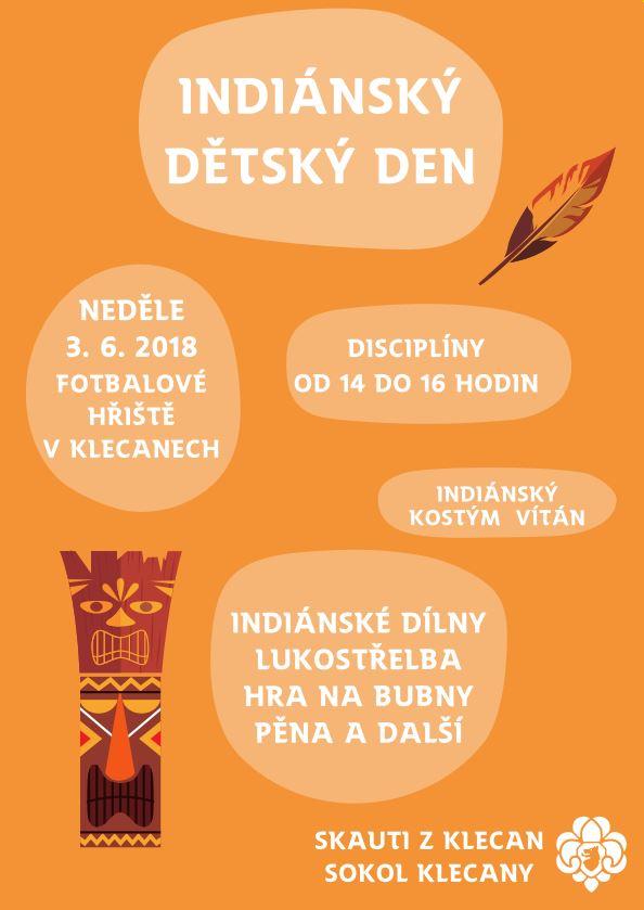 Pozvánka na Indiánský dětský den